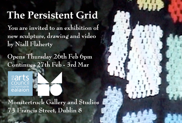 The Persistent Grid - exhibition invite